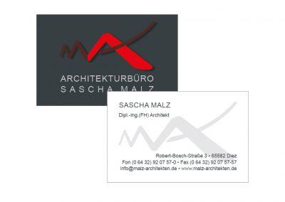 Visitenkarten Sascha Malz