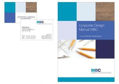 Visitenkarten und Corporate Design MBC