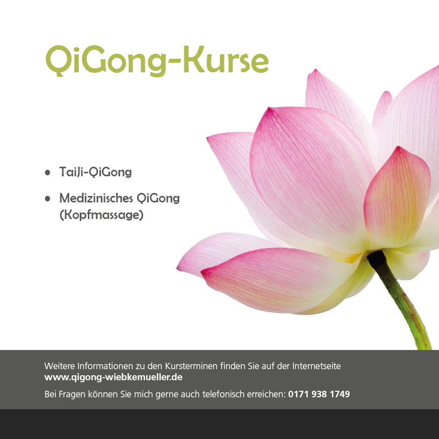 QiGong-Kurse Vorderseite