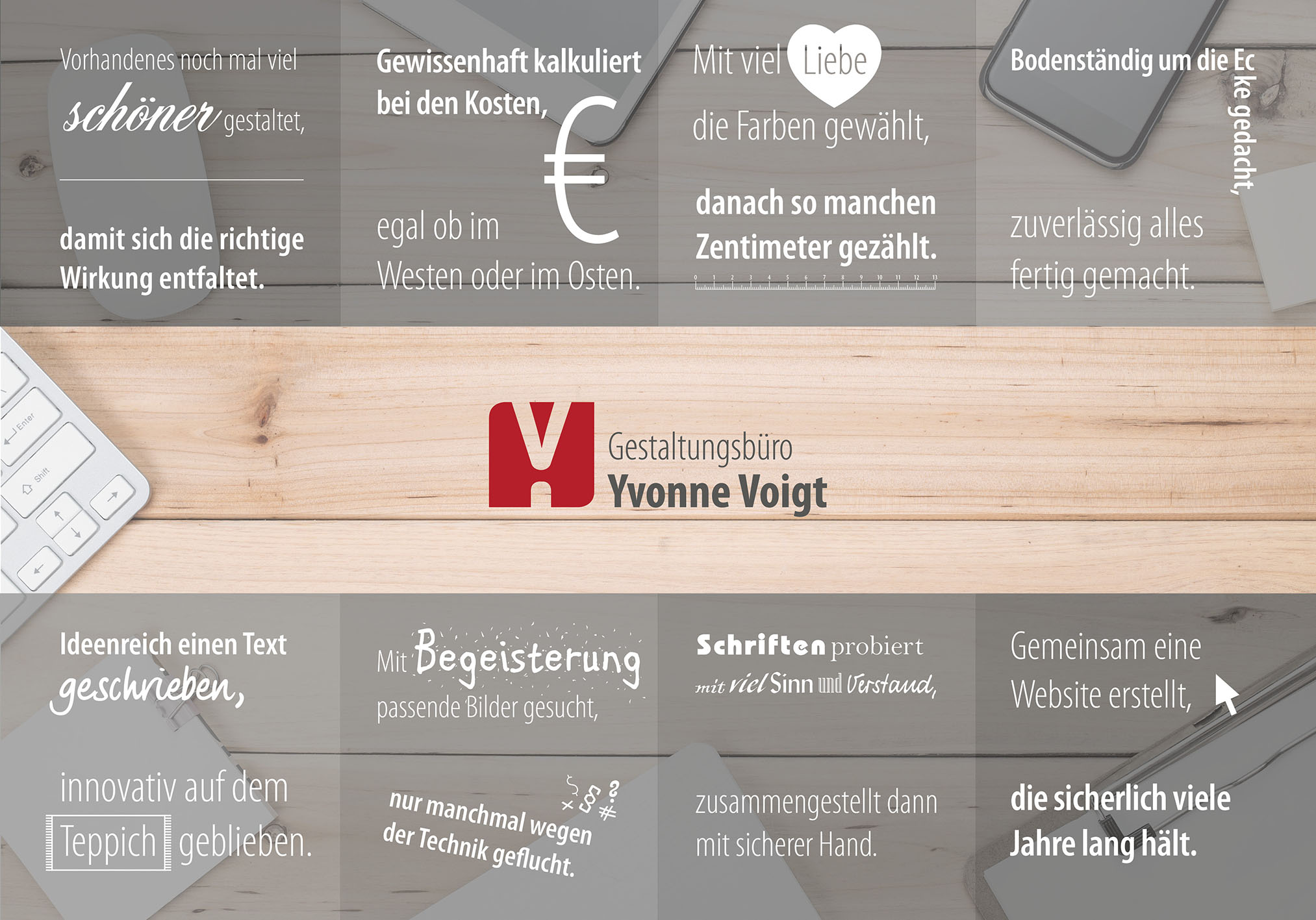 Poster Gestaltungsbüro Yvonne Voigt