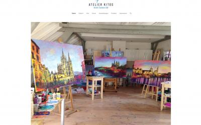 Homepage und Logo Atelier Kitos