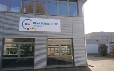 Eingangsbereich Realschule Plus in Hahnstätten