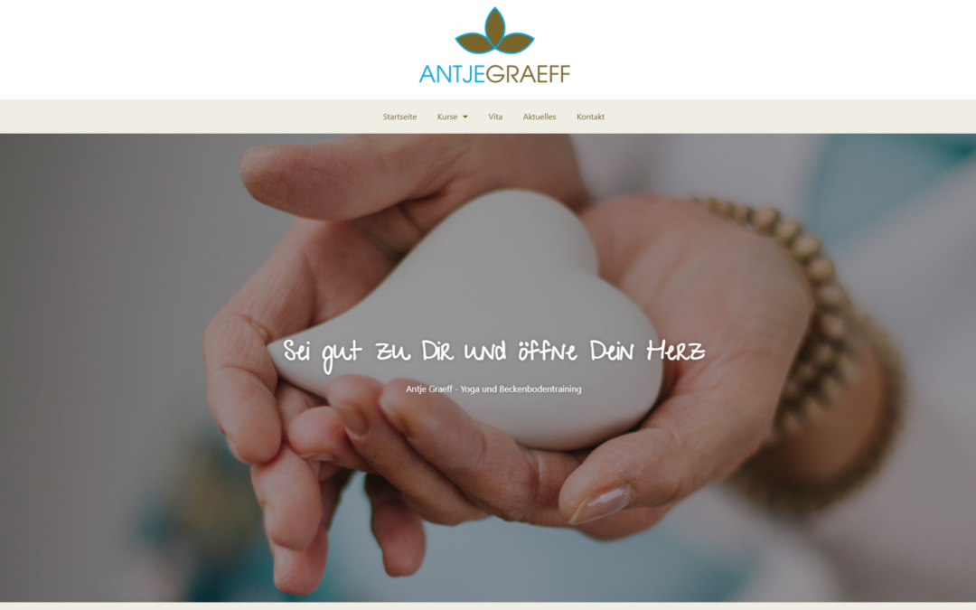 Website Antje Graeff